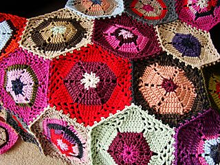 Hex blanket July 10
