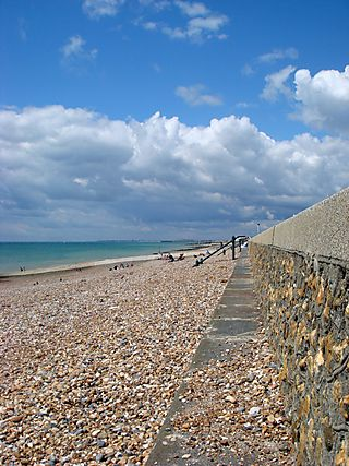 July 13 Hove beach towards Worthing