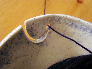 Nov 11 yarn bowl detail