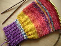 Hundertwasser_sock